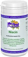 Vitamin B 3 Niacin 25 mg  (60 Kps.) - HP