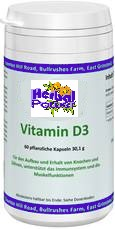 Vitamin D 3 - Cholecalciferol - 60 Kps. je 501 mg - HP